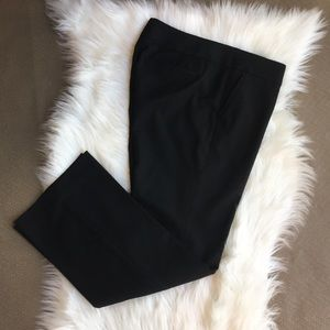 Loft women's petite black pants size 8